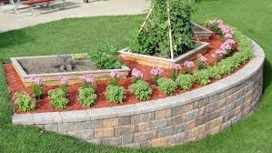 build a block retaining wall to