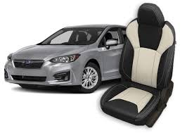 subaru impreza seat covers leather