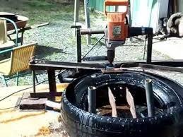 diy tire cutting machine you