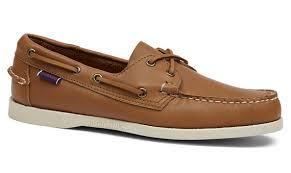 dockside portland leather boat shoe