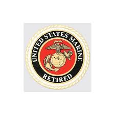 Shop Us Marine Corps Retired Seal Car Decal Overstock 10350251