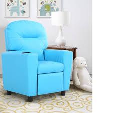 Kids Sofa Recliner Armrest Couch Children Living Room Furniture W Cup Holder Groupon