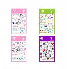Best Promo F6b7 12 Pcs Set Got7 Small Wall Sticker Korean Kpop Around Got7 Stickers Gift Cicig Co