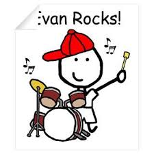 Wall Art Wall Decals Drum Set Evan Wall Decal On Popscreen