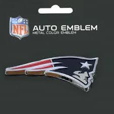 New England Patriots Heavy Duty Metal 3 D Color Auto Emblem Ebay
