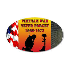 Vietnam War Memorial Wall Decal By Dog Tags And Combat Boots Cafepress
