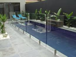 Glass Swimming Pool Fencing 85 Light Transmittance Glass Pool Safety Fence