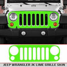 Jeep Jk Grille Multi Color Carbon Fiber Seven Slat 4 4