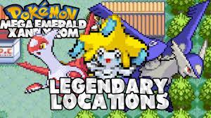 Pokemon Mega Emerald XY Edition: Legendary Locations (Mega Latios, Latias &  Jirachi) - YouTube