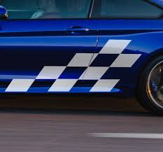 Racing Picture Car Sticker Tenstickers