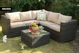 yakoe rattan corner sofa set