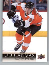 Amazon.com: 2018-19 Upper Deck Hockey Canvas #C178 Ivan Provorov ...