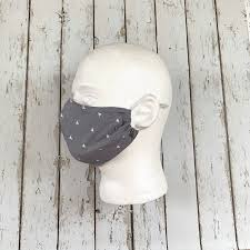 Face Mask With Filter Pocket, Cotton ...
