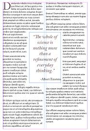 how to add a pull quote to a layout in adobe indesign webucator