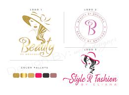 beauty saloon cosmeticakeup logo
