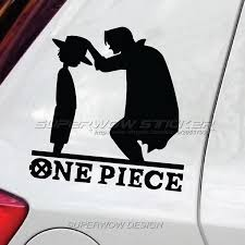 2020 Car Stickers One Piece Luffy Straw Hat Cartoon Anime Reflective Waterproof Car Stickers Decorative Block Decorative Decals From Modifie 2 65 Dhgate Com