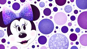 purple polka dots wallpaper