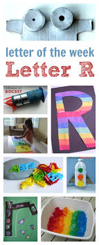 letter of the week r crafts