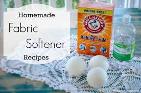 8 homemade fabric softener recipes