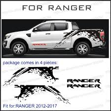 Custom For Ford Ranger Stickers 2pc Mudslinger Wildtrack Car Body Rear Tail Trunk Graphic Vinyls Modified Accessories Decals Buy At The Price Of 76 58 In Aliexpress Com Imall Com