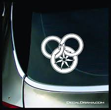 The Wheel And The Great Serpent Wheel Of Time Inspired Vinyl Car Lapt Decal Drama