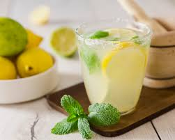 homemade electrolyte drink with baking