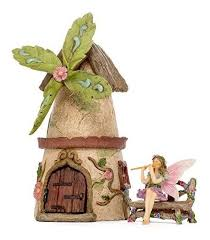 patio eden fairy garden house set kit