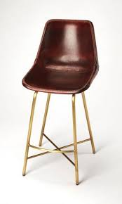 butler commercial leather bar stool 3788140