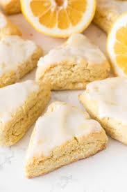 Mini Lemon Scones - Crazy for Crust