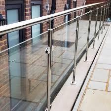 tempered glass balcony railing designs