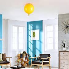 Homary Yellow Balloon Led Large Pendant Ceiling Light 1 Lamp Home Decor Kid Room Ebay