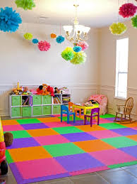 Kids Rugs Are Not Just For Decoration But An Educational Method Pouted Online Magazine Latest Design Trends Colorful Playroom Daycare Decor Kids Flooring