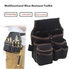 tool bag waist pockets electrician tool