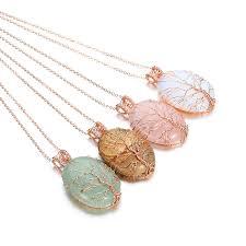 stone chakra opal necklaces pendants