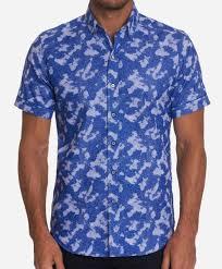 Robert Graham Ward Short Sleeve Sport Shirt : MacDermotts On Bernard