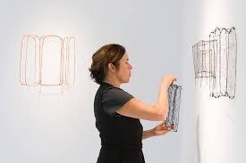 L'artiste britannique Polly Brooks expose à l'ISAM de Gabès - FDT