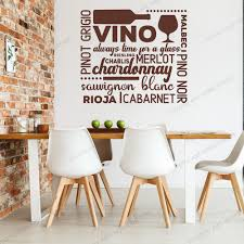 Self Adensive Wine Bar Words Wall Sticker Kitchen Restaurant Bar Lettering Drink Wall Decal Dinning Room Vinyl Home Decor Rb266 Leather Bag