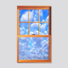 Faux Window Wall Decals Cafepress