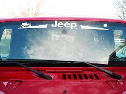 Product Jeep Mountain Rubicon Cj Xj Yj Tj Windshield Decal