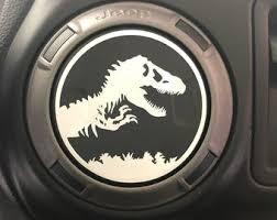 Jurassic Park Decal Etsy