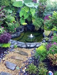 Inspiring Ideas Backyard Ponds And Water Gardens Small Backyard Ponds Ponds Backyard Pond Landscaping