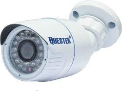 Camera ip thân ống hồng ngoại questek QTX 7003SIP - Camera giám sát
