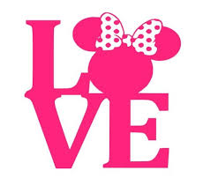 Mouse Love Decal Girl Mouse Car Decal Love Decal Computer Laptop Coffee Mug Vinyl Decal