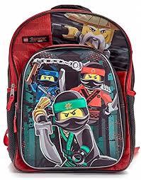 Lego Ninjago 3D Moulded 41cm Backpack School Book Bag by LEGO ...