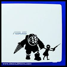 What S Over There Big Daddy Bioshock Inspired Vinyl Decal Decal Drama