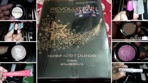 makeup revolution advent calender 2016