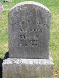Rosetta Smith (1840-1901) - Find A Grave Memorial