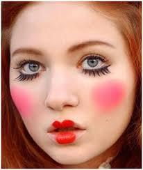 creepy rag doll makeup tutorial