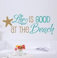 Beach Theme Wall Decals Ideas On Foter