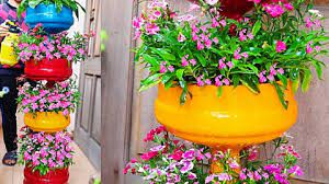 how to make a plastic bottle tiered planter